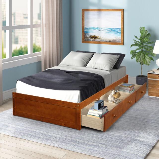 Twin Xl Mate S Platform Storage Bed