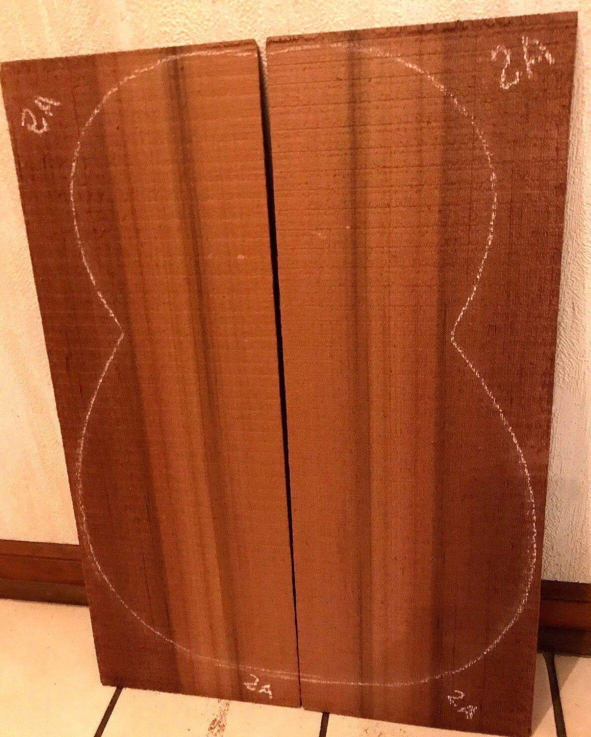 Western ROT Cedar Luthier Wood Guitar Top Set Q/S Book Matched DIY Guitar Timber