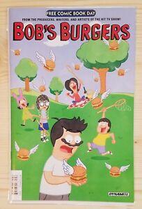 Free-Comic-Book-Day-FCBD-2018-Bob-039-s-Burgers-Unstamped-NM