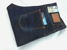 w36 L34 36/34  NUDIE jeans BIG BENGT NIGHT THUNDER LOOSE TAPERED blue