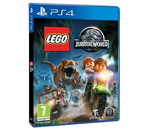 LEGO-JURASSIC-WORLD-PS4-PLAYSTATION-4-Video-Game-NUOVI-SIGILLATI-Gratis-P-amp-P