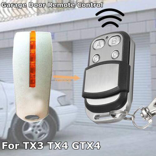 433.92Mhz Clé Télécommande Portail Porte Garage Pour Mhouse MyHouse TX4 TX3