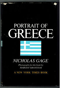 Portrait-of-GREECE-Nicholas-Gage-A-New-York-Times-Book-1971