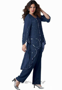 Vintage-Navy-Blue-Purple-Mother-of-the-Bride-Pants-Suit-Long-Sleeves-3-Pieces