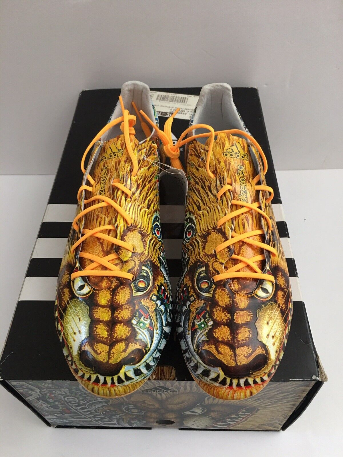 Pico tomar Jugar con  adidas F50 Yamamoto Japan Lion Dog Limited Edition Soccer Shoes Size 10 for  sale online   eBay