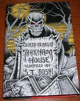 Sixty Years Of Arkham House Joshi Lovecraft Arkham House Cthulhu