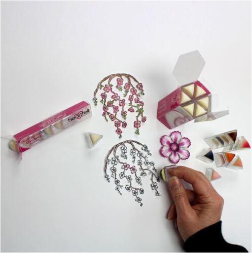-HCDA2-450 Heartfelt Creations Sponge Stamping Tool  STACK /& STORE DAUBERS 30ct
