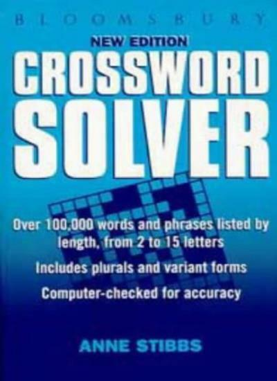 Bloomsbury Crossword Solver,John Daintith