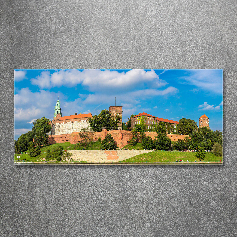 Glas-Bild Wandbilder Druck auf Glas 120x60 Deko Sehenswürdigkeiten Krakau Polen