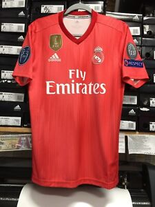 ada5e03e92d Image is loading Adidas-Real-Madrid-Parley-Jersey-2019-Champions-League-