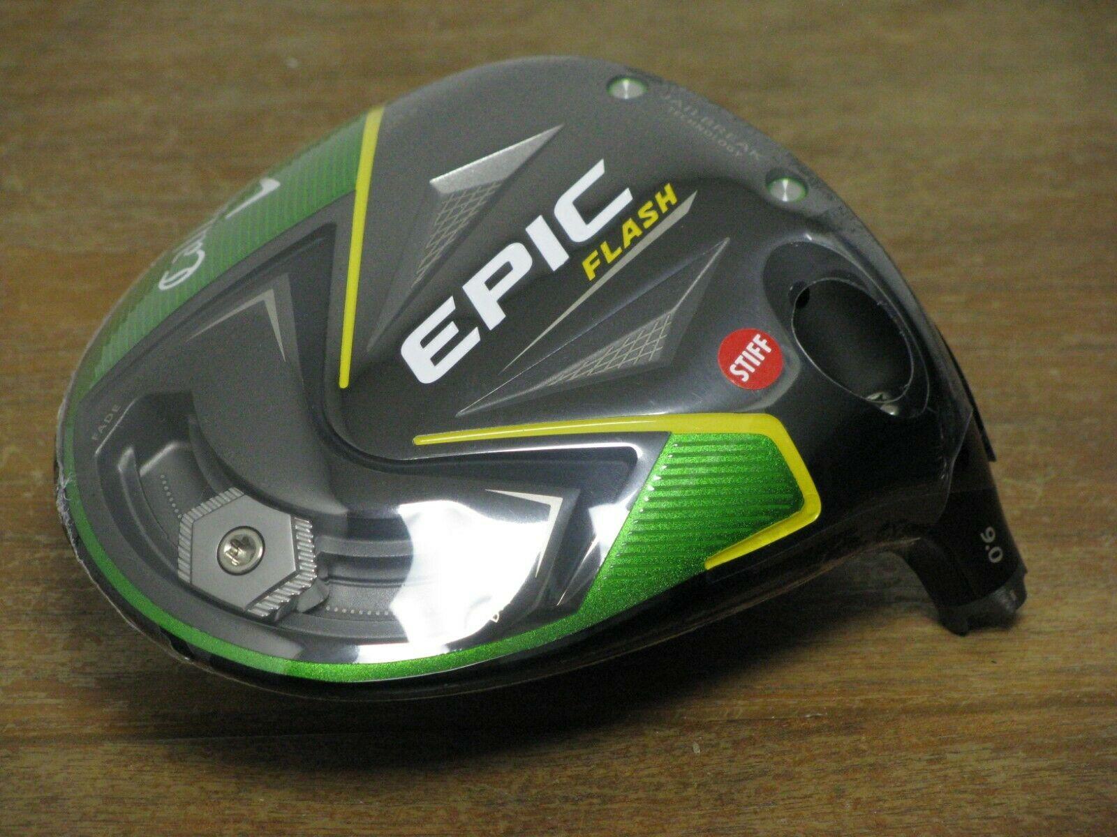 Callaway EPIC Flash 9 Driver  HEAD ONLY  NEW IN PLASTIC FREE SHIP WOW
