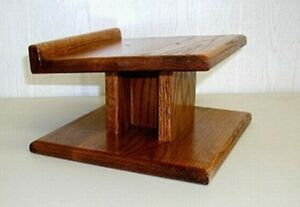 Custom Hand Made SOLID OAK Speaker Stands Home Theater eBay