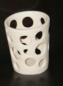 Large-white-candle-holders-moon-hole-resin-design-wedding-party-table-theme-BULK