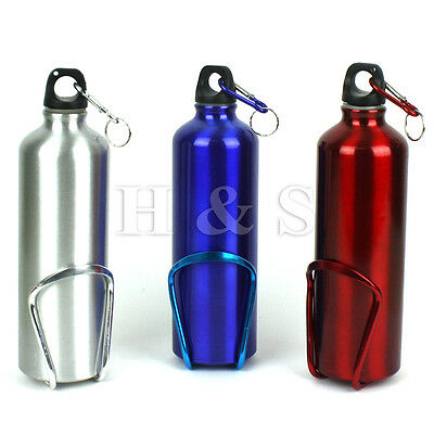 Aluminium Sports Mountain Bike Bicycle Cycle Water Drink Bottle Holder Cage Set