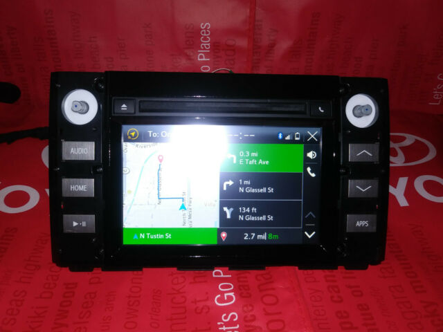Toyota Tundra Navigation CD Player Radio 2016 OEM 86140-0c120