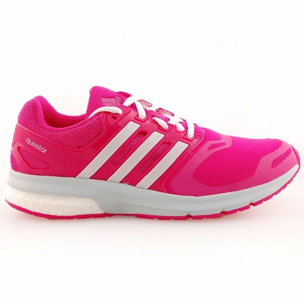 adidas questar boost techfit ladies running schuhe - Größe UK 10.5, EU 45.3