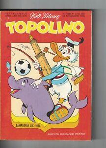 1976 11 28 - TOPOLINO - WALT DISNEY - N.1096 - 28 NOVEMBRE 1976 - Italia - 1976 11 28 - TOPOLINO - WALT DISNEY - N.1096 - 28 NOVEMBRE 1976 - Italia