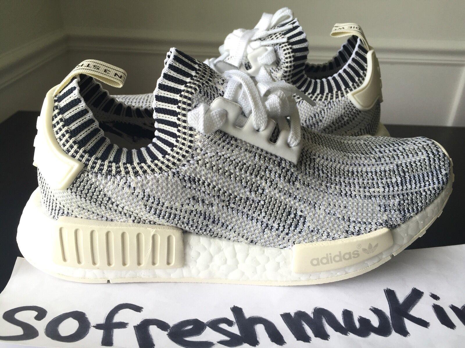 Adidas NMD R1 Pk Pk R1 Blanco Gris Camo SZ 6,5!Ba8600 glitch primeknit Boost Zebra ab3362