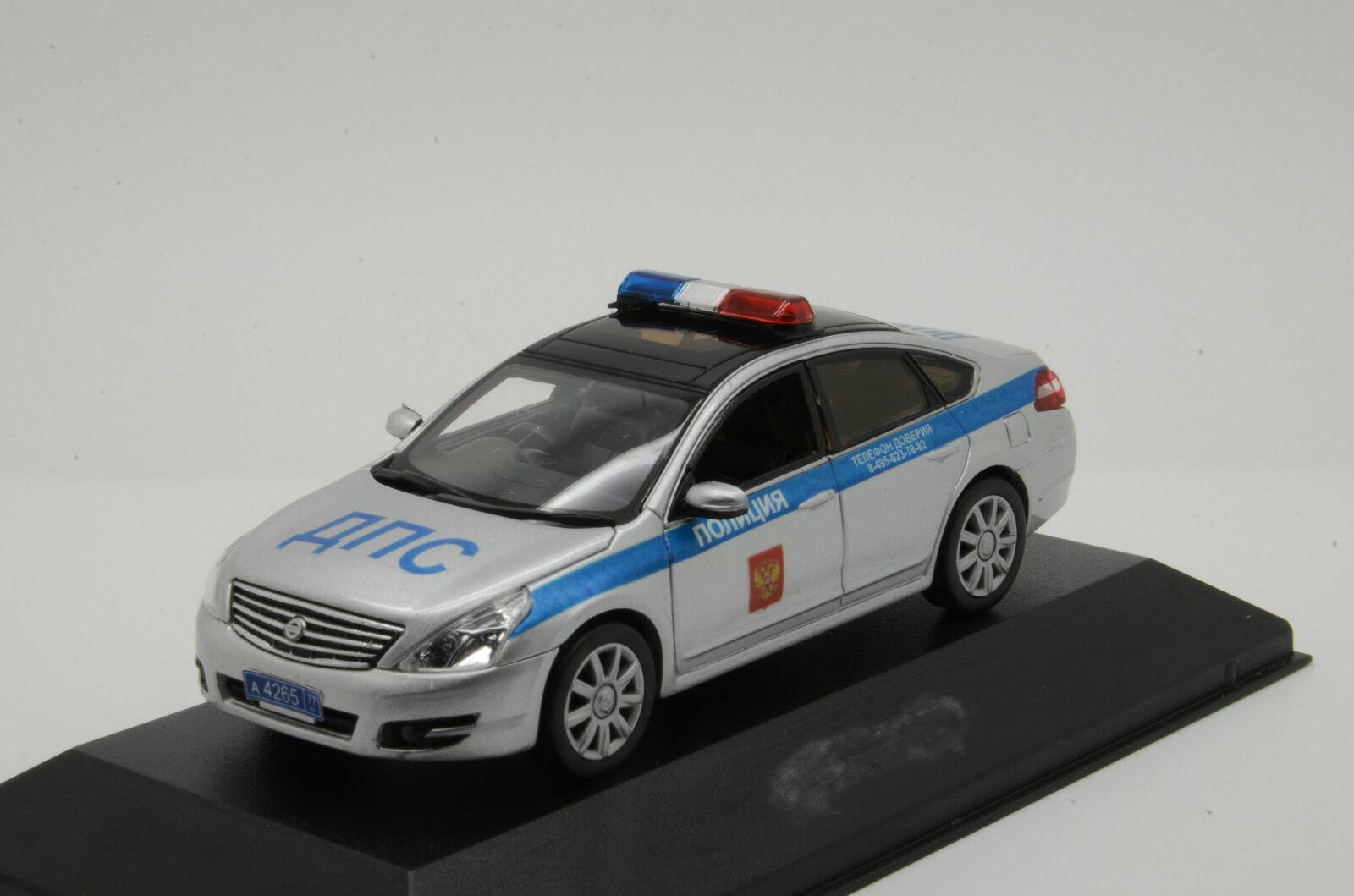Rare    Nissan Russian police 1 43