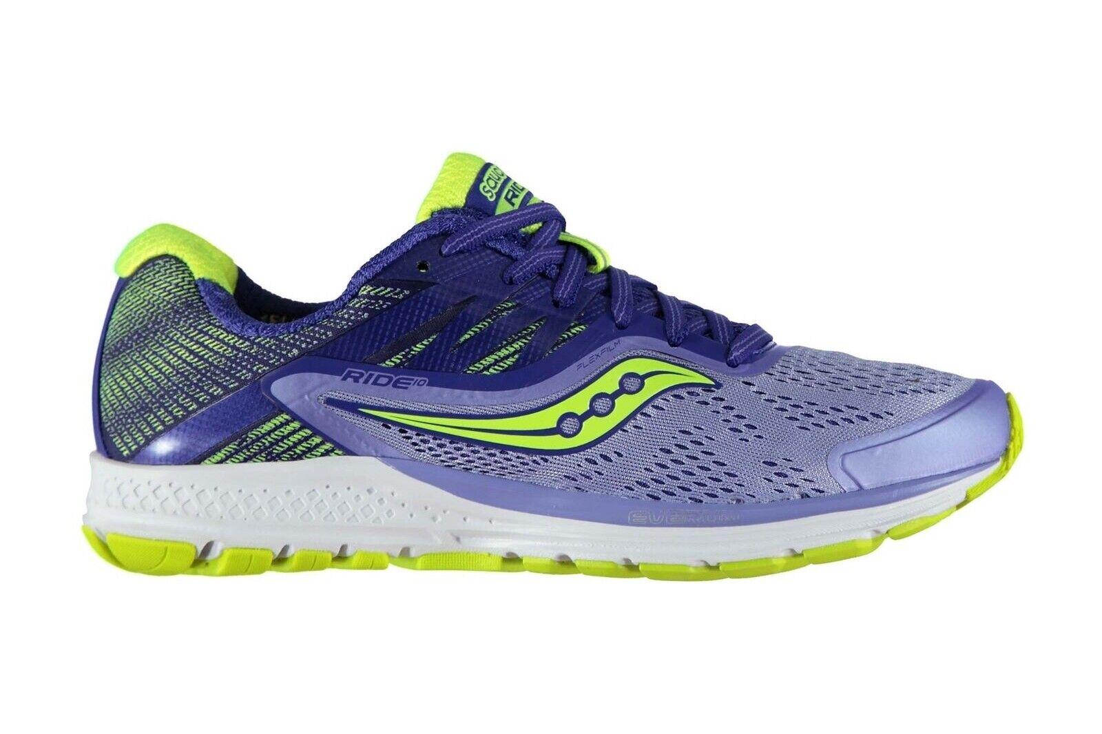 SAUCONY Da Donna Ride 10 Donna Sautope Da Corsa Sautope Sportive Jogging Footwear