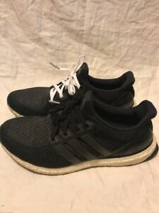 2403176a0a4f5 Image is loading ADIDAS-Ultraboost-2-0-Core-Black-BB3909-Size-