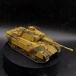 Dipinto 28mm BOLT ACTION 1/56 PANTHER TANK #1 WARLORD GAMES Ww2