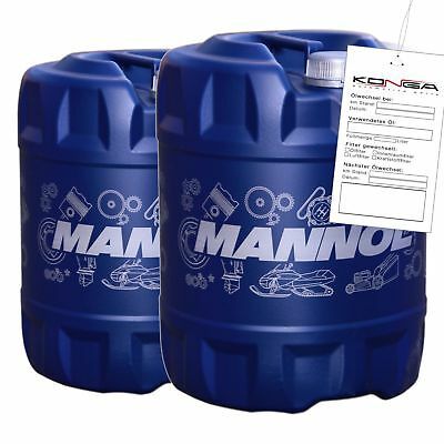 40 Liter MANNOL 2-Takt Plus TC Motoröl Motorradöl Motor ÖL
