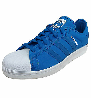 adidas Originals Men's Superstar Festival Canvas Trainers Blue