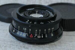 INDUSTAR-50-2-Black-3-5-50-mm-Vintage-USSR-Russian-lens-M42-Excellent-Condition