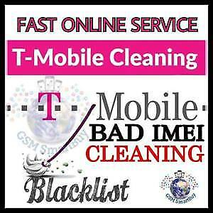 T-Mobile USA - Unbarring / Cleaning - All Models & Brands supported