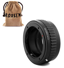 Contax Yashica C/Y lens to Sony E adapter Macro Focusing Helicoid NEX A6000 5T