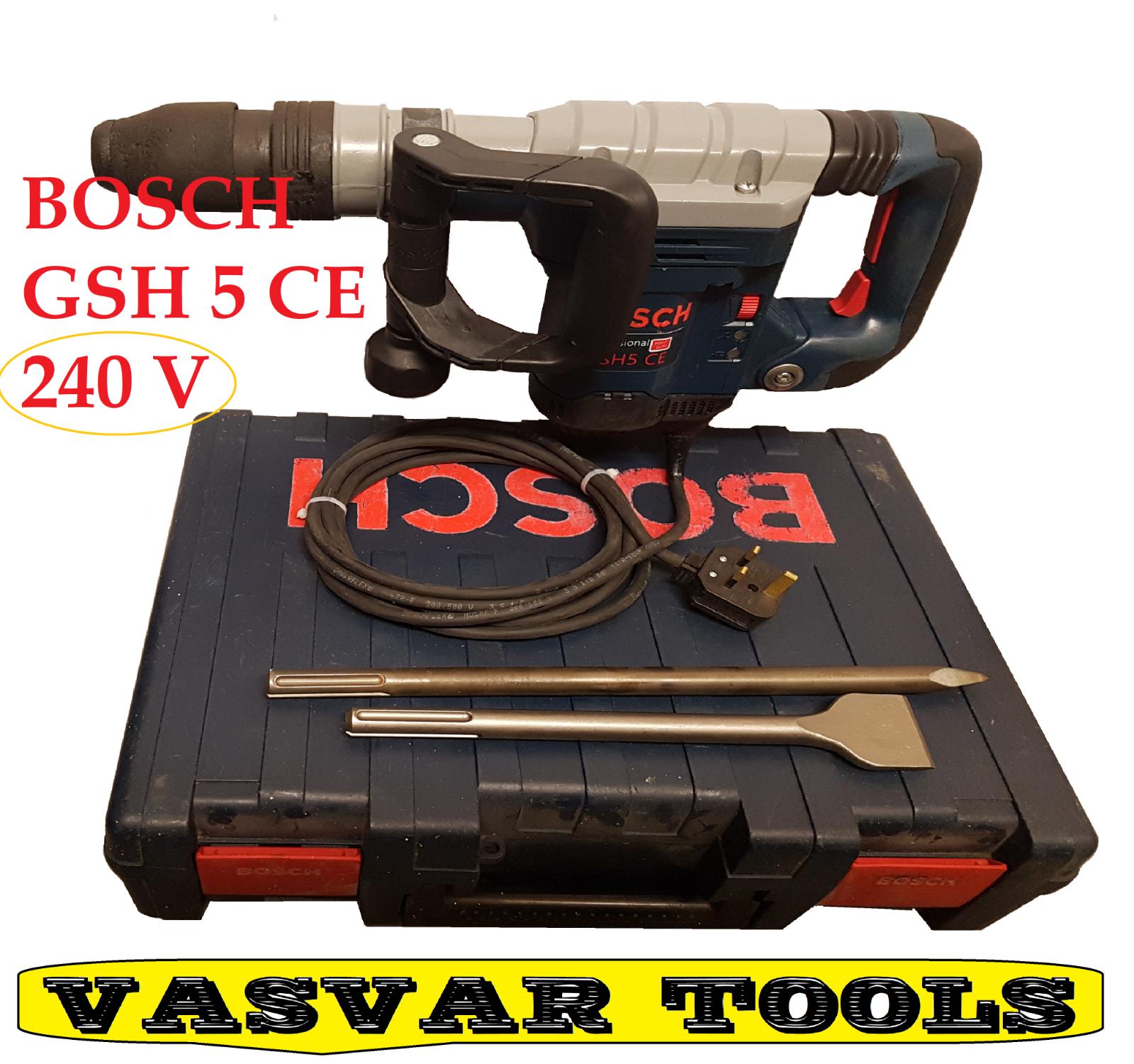 Hammer breaker GSH 5-E 0 611 318 741 demolition HAMMER 240V