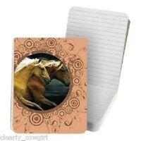 8568 -- Tree Free Eco Wild Horses Pocket Purse Note Pad -wow