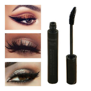 cb06f64a391 Black Eye Lashes Women Big Eyes Silk Fiber Eyelash 4D Mascara Make ...