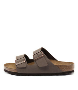ef84aa15d Image is loading New-Birkenstock-Arizona-Mocca-Womens-Shoes-Casual-Sandals-