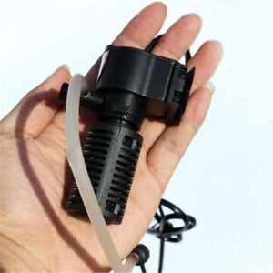 3 in1 mini acquario filtro interno pompa sommergibile ad ossigeno per acquario