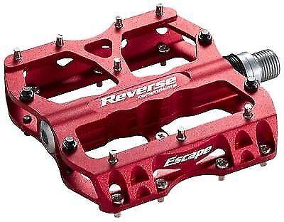 1 1 1 Satz Reverse Escape Pedale ROT schwarze pins DH FX MTB flat-   fahrradpedal 67856a