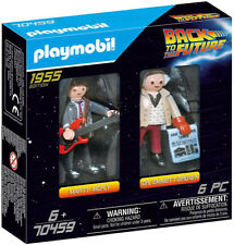 PLAYMOBIL Back to The Future Marty McFly & Doc Brown 70459 6-piece 6 Buildi