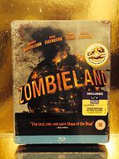 STEELBOOK Blu-ray Zombiland  [ Play.com Limited  4000 Ex ]