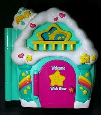 Vintage Care Bears Care A Lot Wish Bear House 6 Inch Play Set 2003
