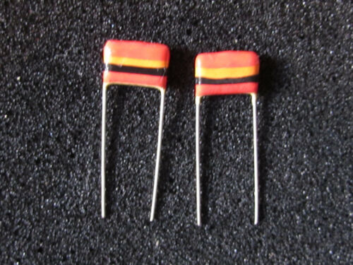 Mullard Tropical Fish Capacitors 0.022uF C280 Tone Quantity 4 pieces 250V 20/%