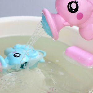 Cute-Plastic-Elephant-Shape-Water-Spray-Toy-Baby-Bath-Toy-Swimming-Toy-Kids-Gift