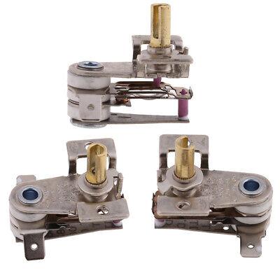 KDT-200 AC 250V 16A 90 Celsius Temperature Switch Bimetallic Heating Thermostat