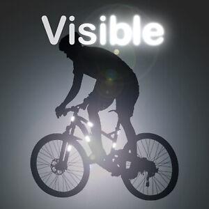 10-Reflective-Stickers-High-Visibility-Autocollant-Reflechissant-Adhesif-Pro