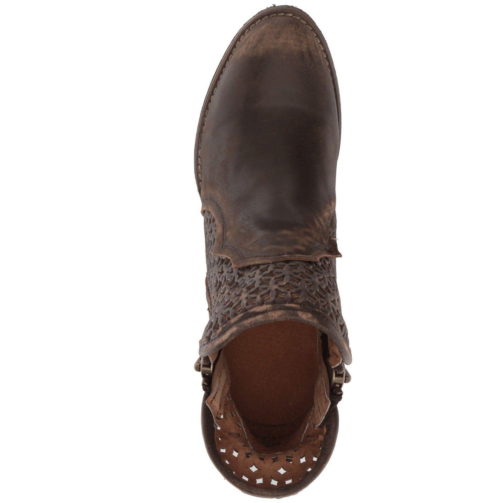 Círculo G por Shortie Corral Damas Marrón recorte Shortie por botas Q5019 275aa4