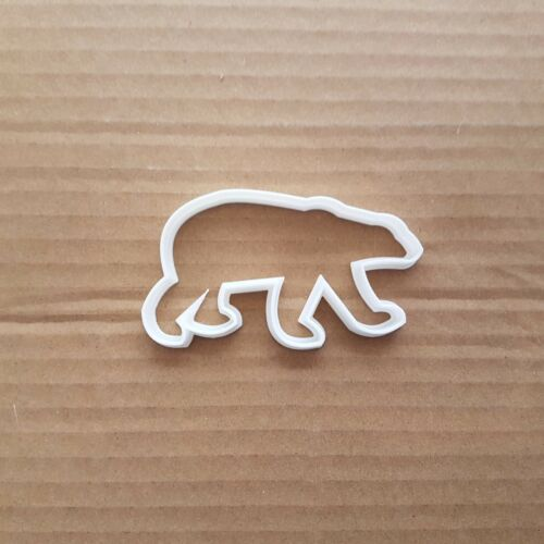 Eisbär Tiere Mammal Form Keksausstecher Teig Plätzchen Gebäck Fondant Sharp