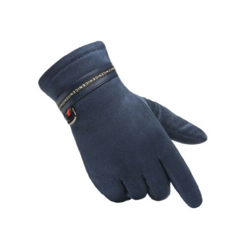 Men/'s Touch Screen Gloves Thick Fleece Lined Windproof Warm Winter Gloves
