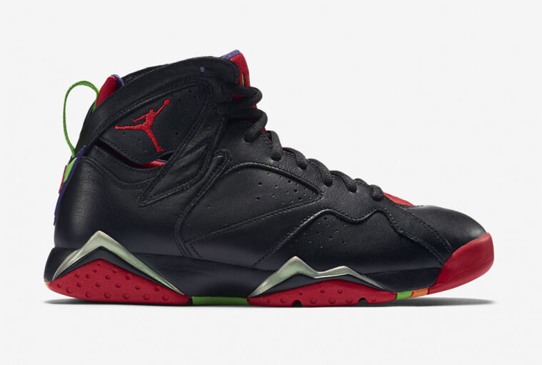 Nike Air Jordan Retro 7 Marvin the Martian sz 13 bordeaux Barcelona VII N7 days