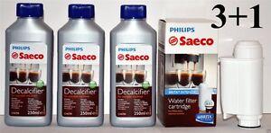 Philips-Saeco-1x-Wasserfilter-Brita-Intenza-plus-CA6702-00-3x-Entkalker-250ml
