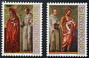 Briefmarken / Briefmarke Luxemburg Yvert und n tellier°1128 à 1129 NSG (cyn10)